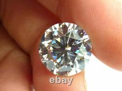 12.30 carat Natural Diamond E FLAWLESS Round GIA Certified ONE OF A KIND