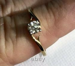 New Very Limited Ed LORIQUE VSIDiamond SOLITAIRE 18k Gold Ring RS Certified