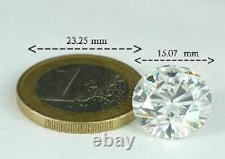 12.30 Carats Natural Diamond E Flawless Round Gia Certified One Of A Kind