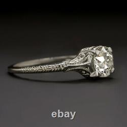 Gia Certified Vs2.87ct Vintage Diamond Engagement Ring Old Europeen Cut Antique